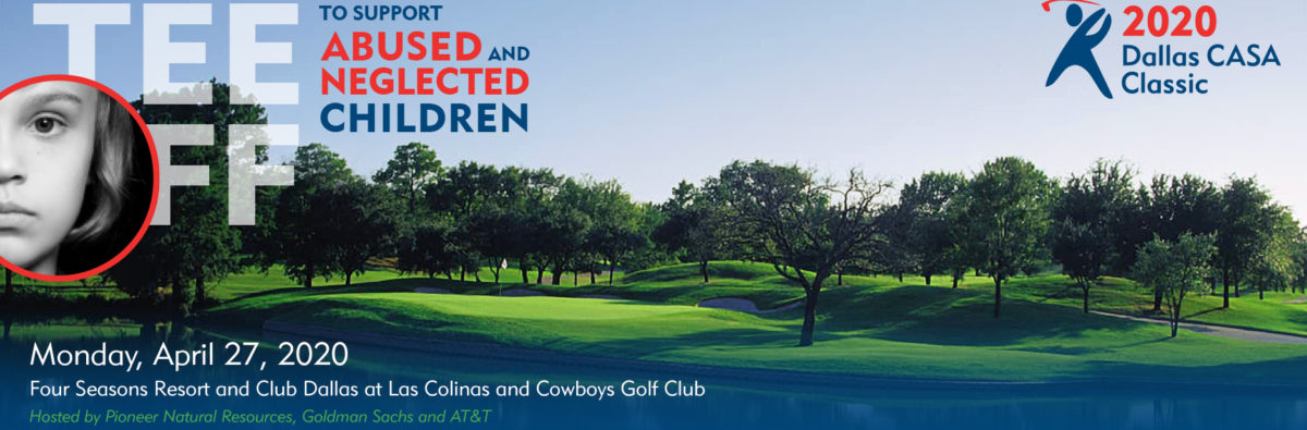 This is a photo of the Dallas CASA Classic 2020 golf tournament web banner