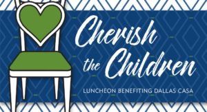 This is a photo of the Cherish the Children20 logo