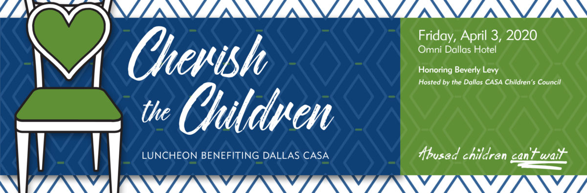 This is a photo of the Cherish the Children logo