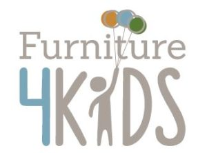 This is a photo of the Furniture 4 Kids logo