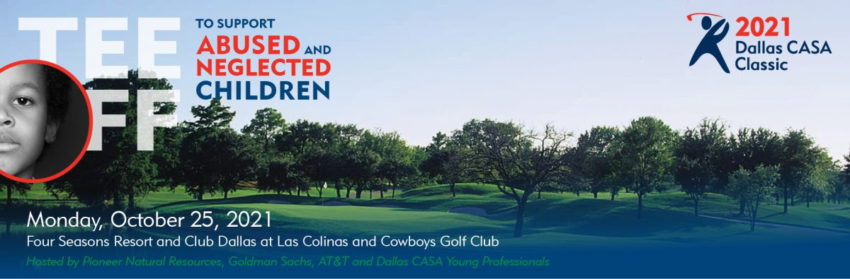 This is an image of the Dallas CASA Classic web banner